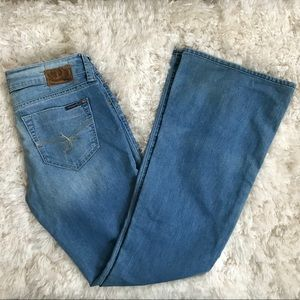 Mavi Low Rise Flare Jean